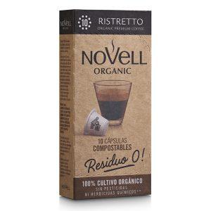 comprar Café Ristretto 10 Novell, 10 cap online supermercado ecologico bio en barcelona frooty