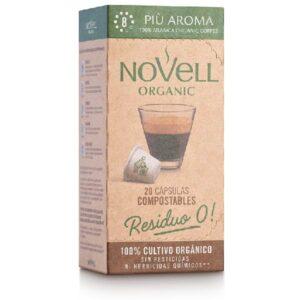 comprar Café Più Aroma 8 Novell, 10 cap online supermercado ecologico bio en barcelona frooty