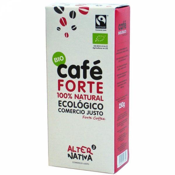 comprar Café Forte BIO 100% Natural Ecológico 250g online supermercado ecologico bio en barcelona frooty