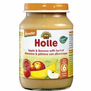 comprar Potito de Manzana, Plátano y Albaricoque, 190g online supermercado ecologico bio en barcelona frooty
