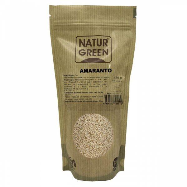 comprar Amaranto Ecológico Naturgreen 450g online supermercado ecologico de barcelona frooty