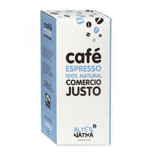 comprar Café Espresso 100% Natural AlterNativa, 250g online supermercado ecologico bio en barcelona frooty