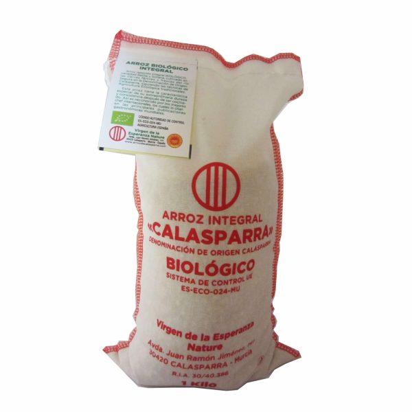 comprar Arroz integral biológico denominación de origen Calasparra, Virgen de la Esperanza Nature online supermercado ecologico de barcelona frooty