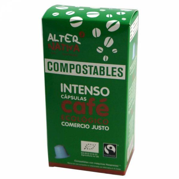 comprar Cápsula Compostable de Café Intenso Alter Nativa, 10x50g online supermercado ecologico bio en barcelona frooty