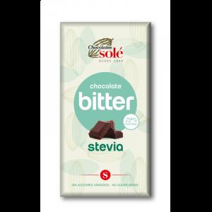comprar chocolate bitter stevia 72% chocolates sole online supermercado ecologico de barcelona frooty