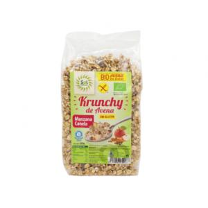 comprar Krunchy Avena con Manzana y Canela Sol Natural, 350g online supermercado ecologico bio en barcelona frooty