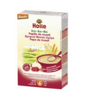 comprar Papilla de muesli Holle eco online supermercado ecologico bio en barcelona frooty