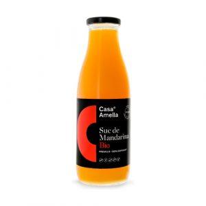 comprar Suc de Mandarina, 250ml casa amella online supermercado ecologico bio en barcelona frooty