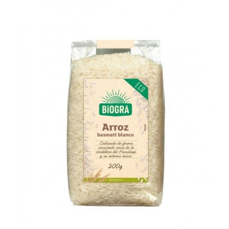 Arroz basmati blanco Eco Biográ, 500 gramos