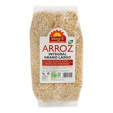Arroz integral de grano largo Biográ