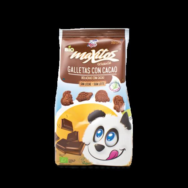 comprar Galletas con cacao sin leche de Maxitos online supermercado ecologico bio en barcelona frooty