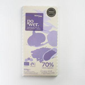 comprar Chocolate 70% con Probióticos y Reishi, toque cítrico, 100g new you bio online supermercado ecologico en barcelona frooty