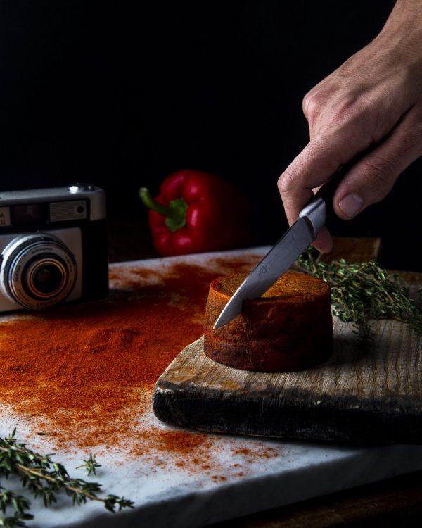 comprar Queso Vegano Semicurado con pimentón dulce ahumado online supermercado ecologico bio en barcelona frooty