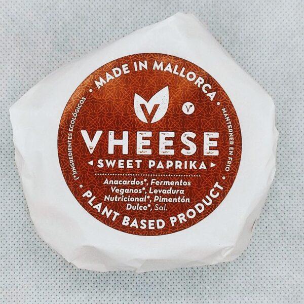 Queso Vegano Bluefort elaborado con Pimentón Dulce en Mallorca