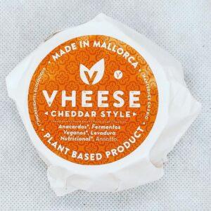 comprar Queso Vegano Bluefort de la marca Vheese elaborado con Anacardos, Fermentos Veganos, Levadura Nutricional y Annatto online supermercado ecologico en barcelona frooty