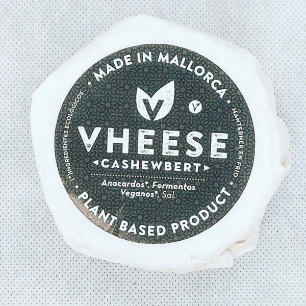 Queso Vegetal Bluefort Cashewbert con Anacardos, Fermentos Veganos y Sal