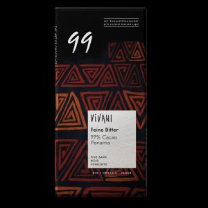 comprar Chocolate Negro BIO 99%, 100g vivani online supermercado ecologico bio en barcelona frooty