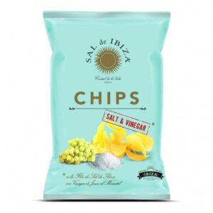 comprar Patatas chips de sal y vinagre Sal de Ibiza online supermercado ecologico bio en barcelona frooty