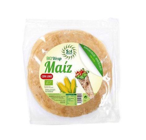 Wrap de maíz con lino Bio Sol Natural