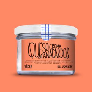 Queso Crema vegano ecológico de Anacardos y fermentos naturales
