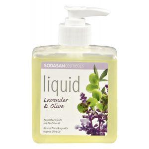 comprar Jabón de Manos Lavanda & Oliva, 300ml lila online supermercado ecologico en barcelona frooty