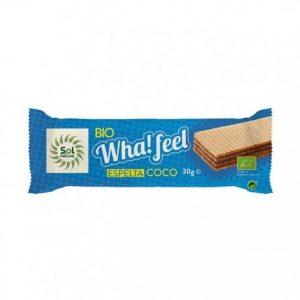 Barquillo de espelta y coco Bio Wha!feel Sol Natural