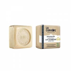 Jabón natural en pastilla Leche de Burra, 100g