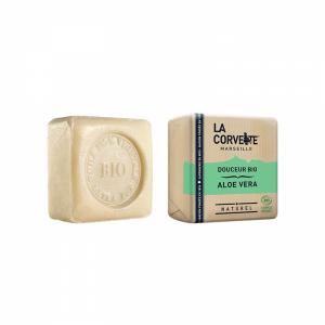 Jabón natural en pastilla Aloe Vera vegano, vegetal y orgánico