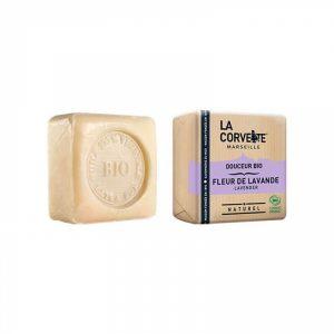 comprar Jabón natural en pastilla flor de lavanda, 100g online supermercado ecologico en barcelona frooty