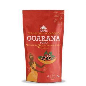 comprar Guaraná en polvo Iswari con certificado ecológico y sin azucares online supermercado ecologico en barcelona frooty