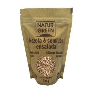 Mezcla de 6 semillas para ensalada Natur Green