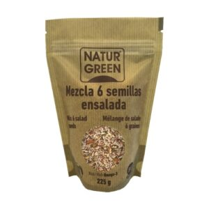 comprar Mezcla de 6 semillas para ensalada Natur Green online supermercado ecologico en barcelona frooty