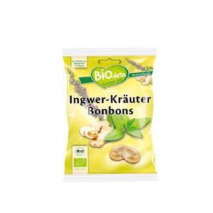 comprar Caramelos rellenos de jengibre y de hierbas BioDeta online supermercado ecologico en barcelona frooty