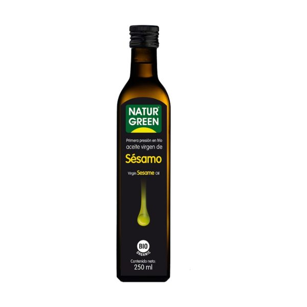 comprar Aceite virgen de sésamo bio online supermercado ecologico en barcelona frooty