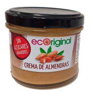 Crema de almendras sin azucares añadidos Ecoriginal