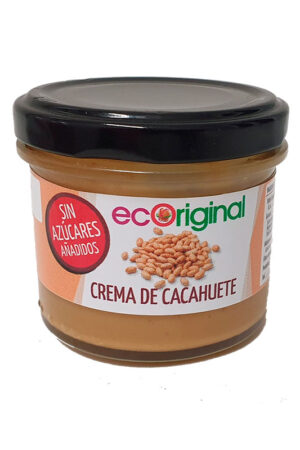 comprar Crema de cacahuete Ecoriginal sin azucares añadidos 100% vegana online supermercado ecologico en barcelona frooty