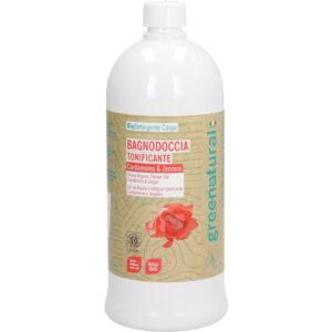 comprar Gel de Ducha Tonificante GreeNatural, 1L online supermercado ecologico en barcelona frooty