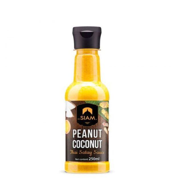 Salsa de cacahuete y coco De Siam 250 ml