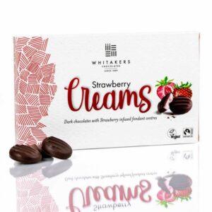 comprar Strawberry Creams, 150g whitakers online supermercado ecologico en barcelona frooty
