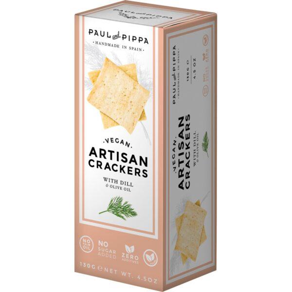comprar Crackers de Aroma de Trufa y Aceite de Oliva, 130g paul pippa online supermercado ecologico en barcelona frooty
