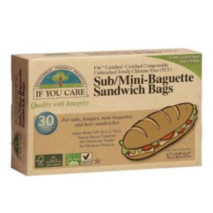 Bolsas de papel ecológico para bocadillos