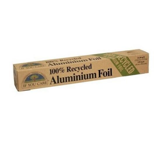 Papel de aluminio 100% reciclado