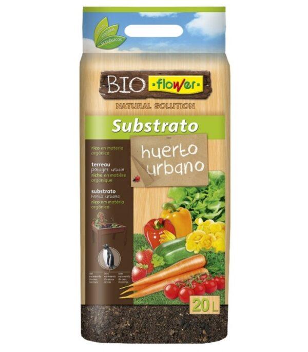 comprar Sustrato natural universal bio para Huerto Urbano 20L de Flower online supermercado ecologico en barcelona frooty