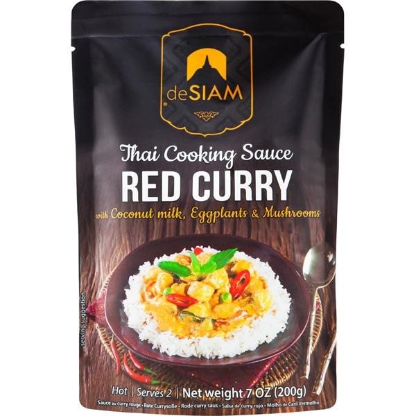 Salsa de Curry Roja de Siam, 200g