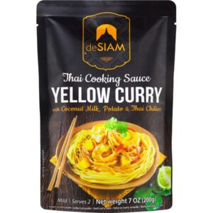 comprar Salsa Curry Amarilla de Siam, 200g online supermercado ecologico en barcelona frooty