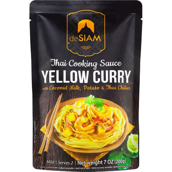 Salsa Curry Amarilla de Siam, 200g