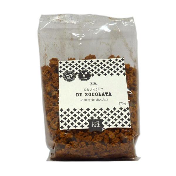 comprar Cereales crunchy de chocolate Bio Rél, 375 gramos online supermercado ecologico en barcelona frooty