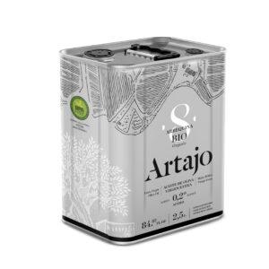 comprar aceite de oliva virgen extra 8 bio ecologico Artajo arbequina 250 ml online supermercado ecologico en barcelona frooty