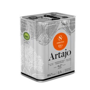 comprar aceite de oliva virgen extra 8 bio ecologico Artajo arroniz 250 ml online supermercado ecologico en barcelona frooty