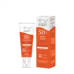 comprar spray protector solar cara y cuerpo spf 30 alga maris laboratories de biarritz online supermercado ecologico en barcelona frooty